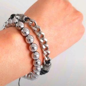 Buddha & Beaded Bracelet Set
